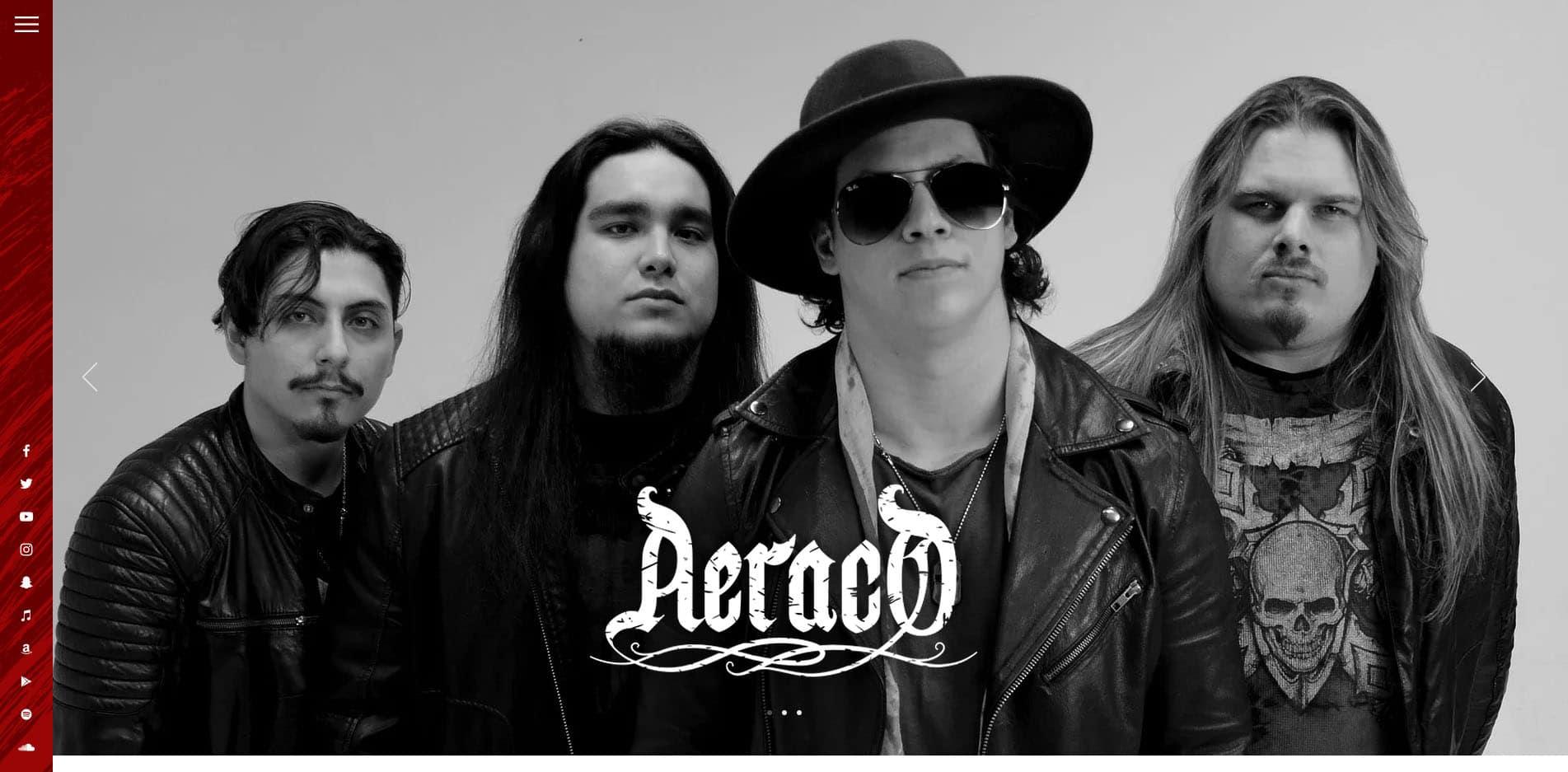 Aeraco – Website