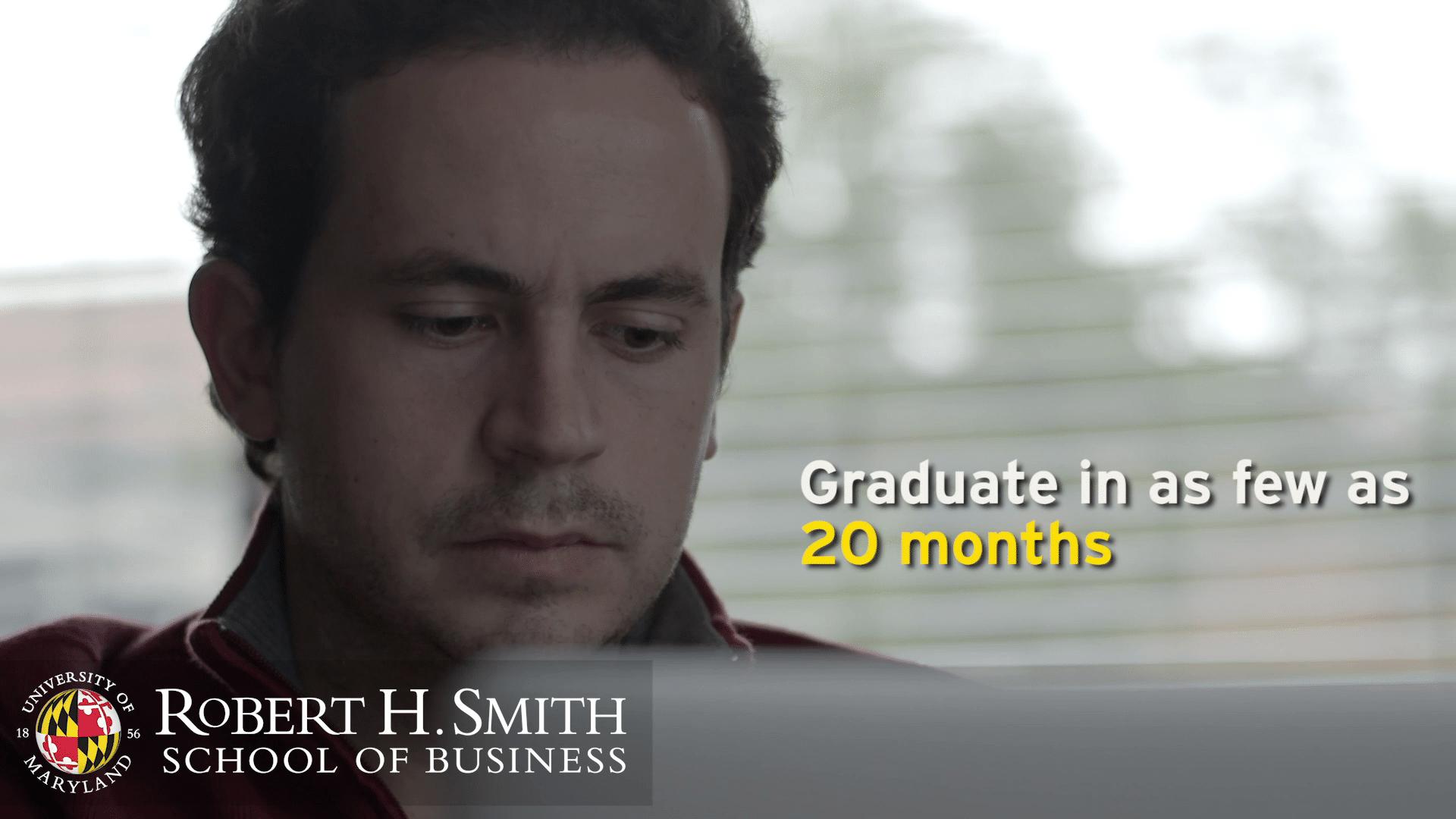 UMD: Robert H Smith School of Business Promo #1