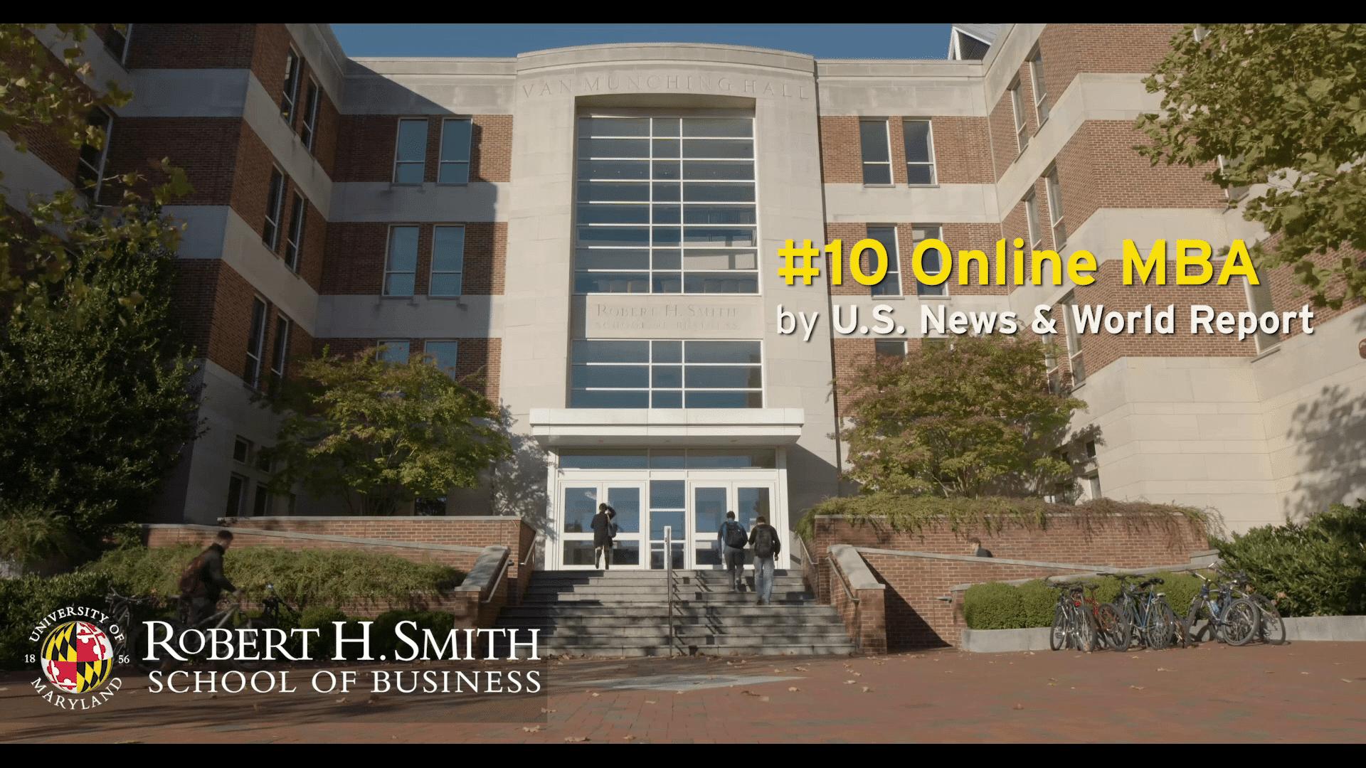 UMD: Robert H Smith School of Business Promo #2